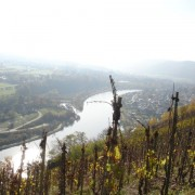 View of the Saar to Saarburg from Schonfels