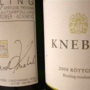 Knebel labels, old and new