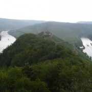 A loop of the Mosel from Merl to Punderich