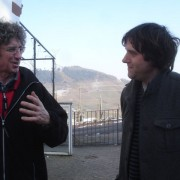 Uli Stein with Dan Towler