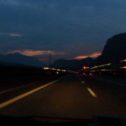 Driving down the valley, Alto Adige and Trentino